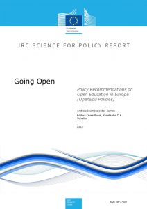 OpenEdu Policies reports: JRC Research Centre