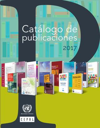 Catálogo de publicaciones de la CEPAL