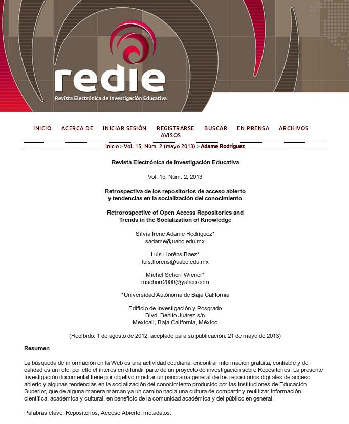 Retrospectiva de los repositorios de acceso abierto y tendencias en la socialización del conocimiento
