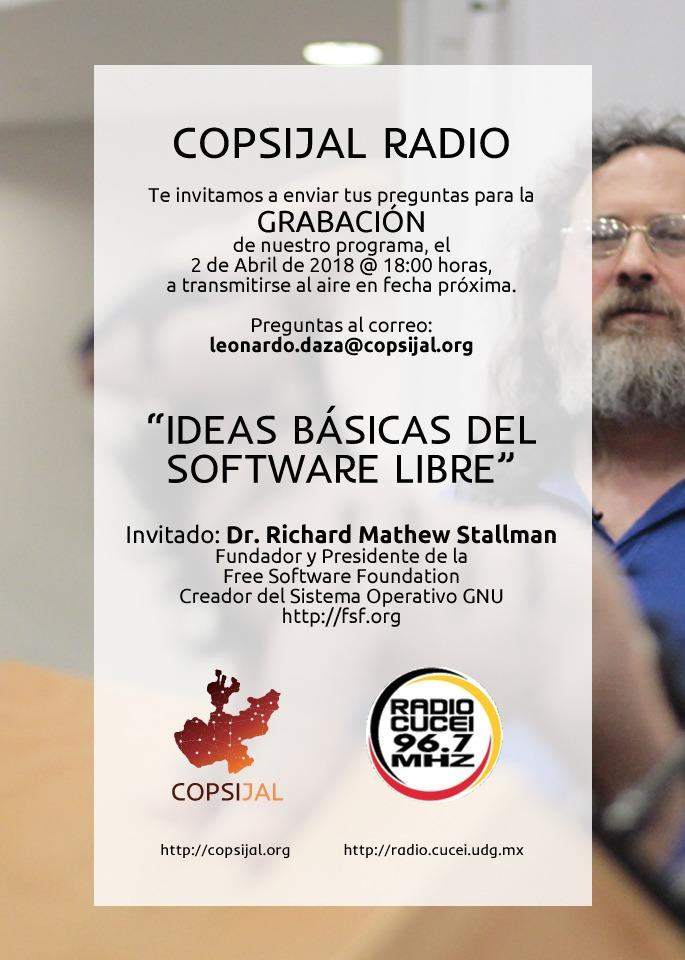 Ideas básicas del software libre